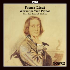Franz Liszt • Werke für zwei Klaviere (cpo 777 896-2) | Cover