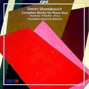 Dmitri Shostakovich • Complete Works for Piano Duo (cpo 999 599-2)