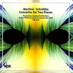 Bohuslav Martinu & Alfred Schnittke • Concertos for Two Pianos (cpo 999 804-2)