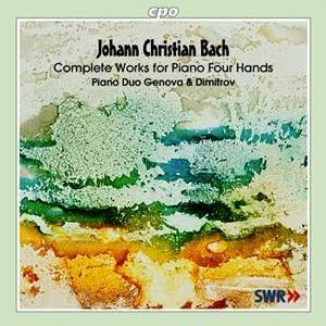 Johann Christian Bach • Complete Works for Piano Four Hands (cpo 999 848-2)