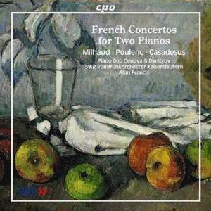 French Concertos for Two Pianos • Milhaud, Poulenc, Casadesus (cpo 999 992-2)