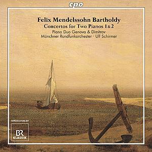 Felix Mendelssohn Bartholdy • Concertos for Two Pianos 1 & 2 (cpo 777 463-2)