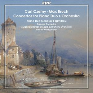 Carl Czerny & Max Bruch • Concertos for Piano Duo and Orchestra (cpo 555 090-2)